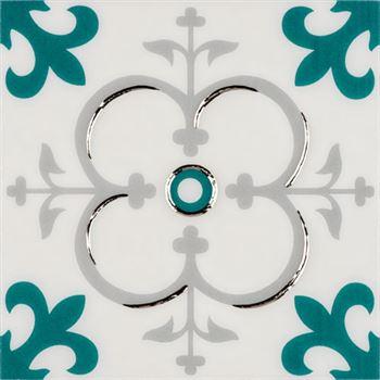RICCO TURKUAZ T04 Seramik Porselen Dekor