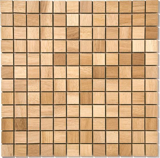 Afrikan Ahşap Mozaik T-4555 Iroro