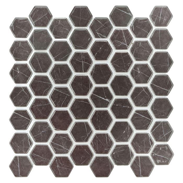 Dijital Cam Mozaik CMHX-K006  (Büyük Hegza)