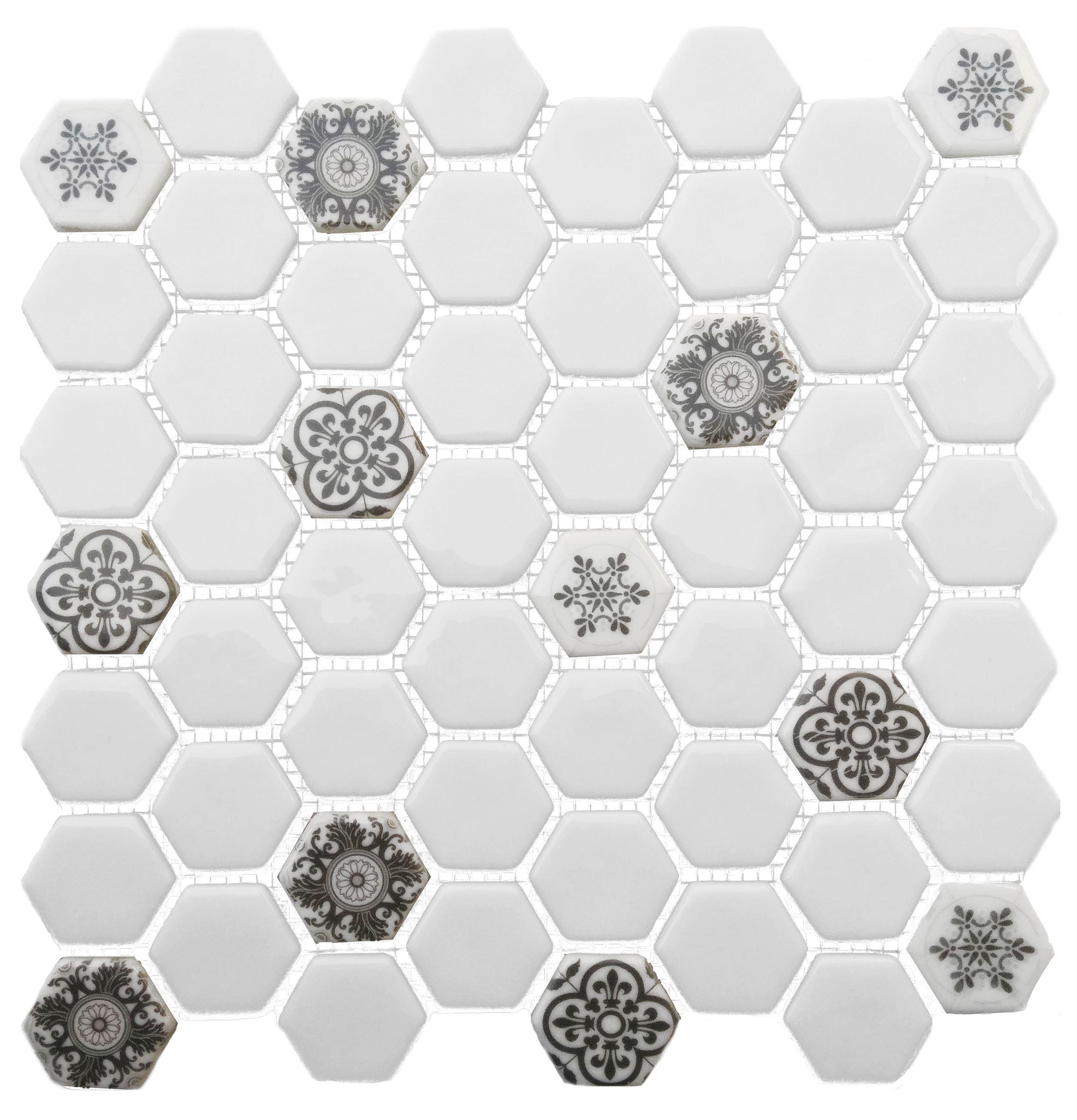 Dijital Cam Mozaik CMHX-K009 (Büyük Hegza)