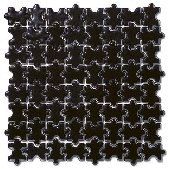 Millenium Puzzle Cam Mozaik /  Puzzle Black