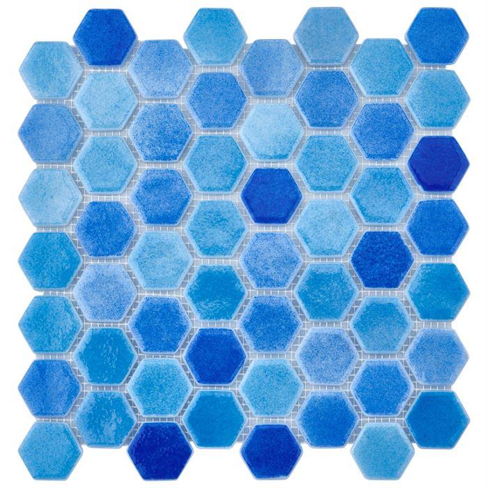 Havuz Cam Mozaik BP-501 (Büyük Hegza)