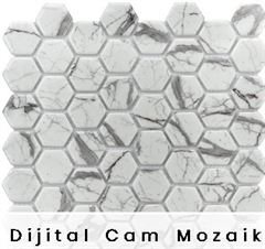 3D Dijital Cam Mozaik