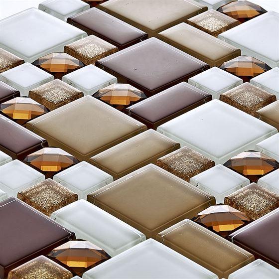 TENLight Kristal Cam Mozaik D-011 Topaz