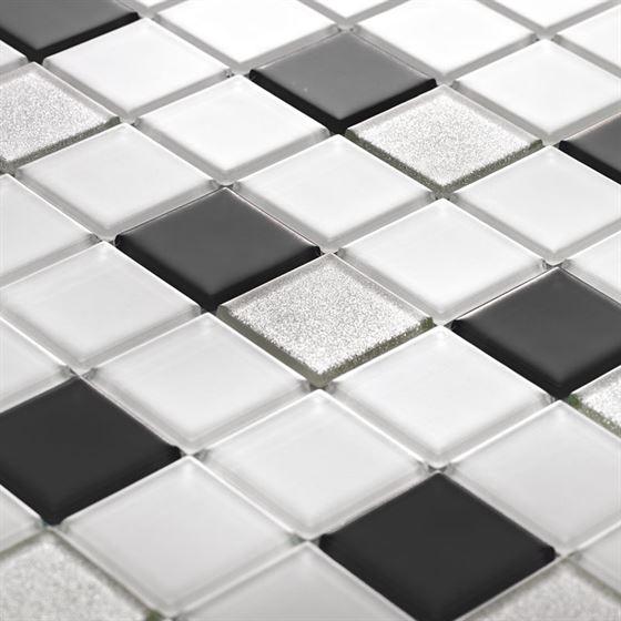 TENLight Kristal Cam Mozaik L-1143 Blanco