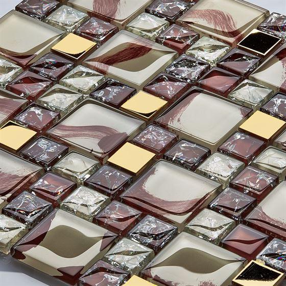 TENLight Metal-Kristal Mozaik K-4823 Sardunya